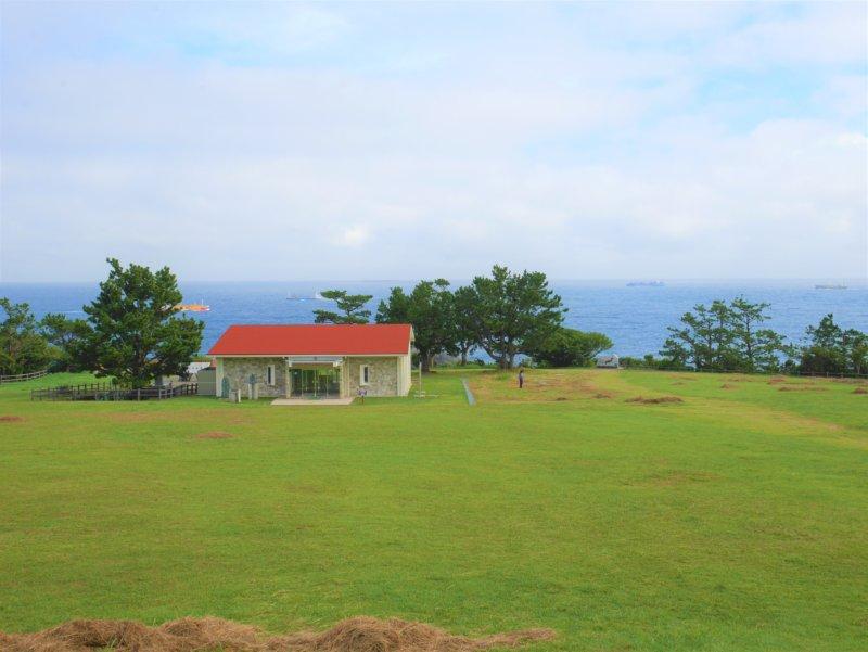 潮岬の潮風の休憩所
